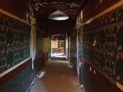 inside the haunted palace hotel
